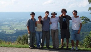 SERC's summer interns on a day-trip to the Shenandoah Valley
