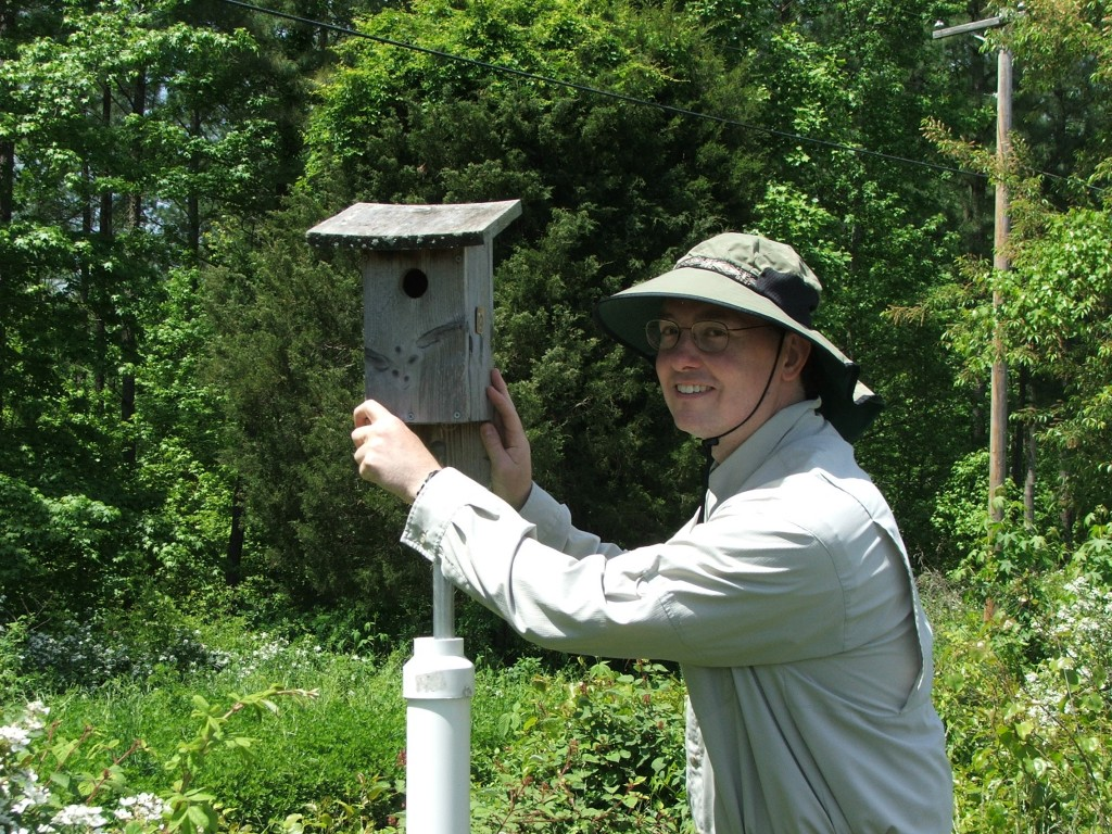 "Dave Gillum: ""Watching the young birds from hatch to fledge is always a thrilling experience."""