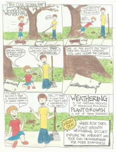 Weathering science comic Cool School Rap